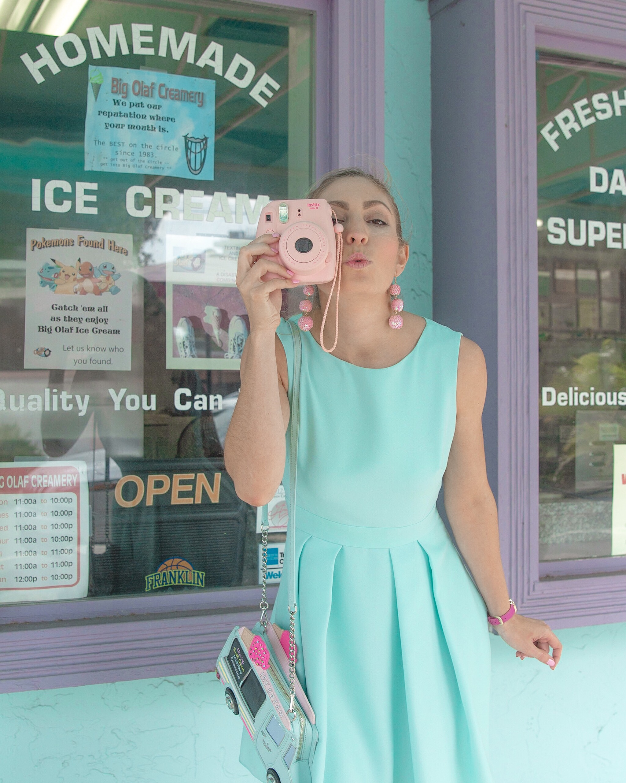 KATE SPADE SCREAMS FOR ICE CREAM