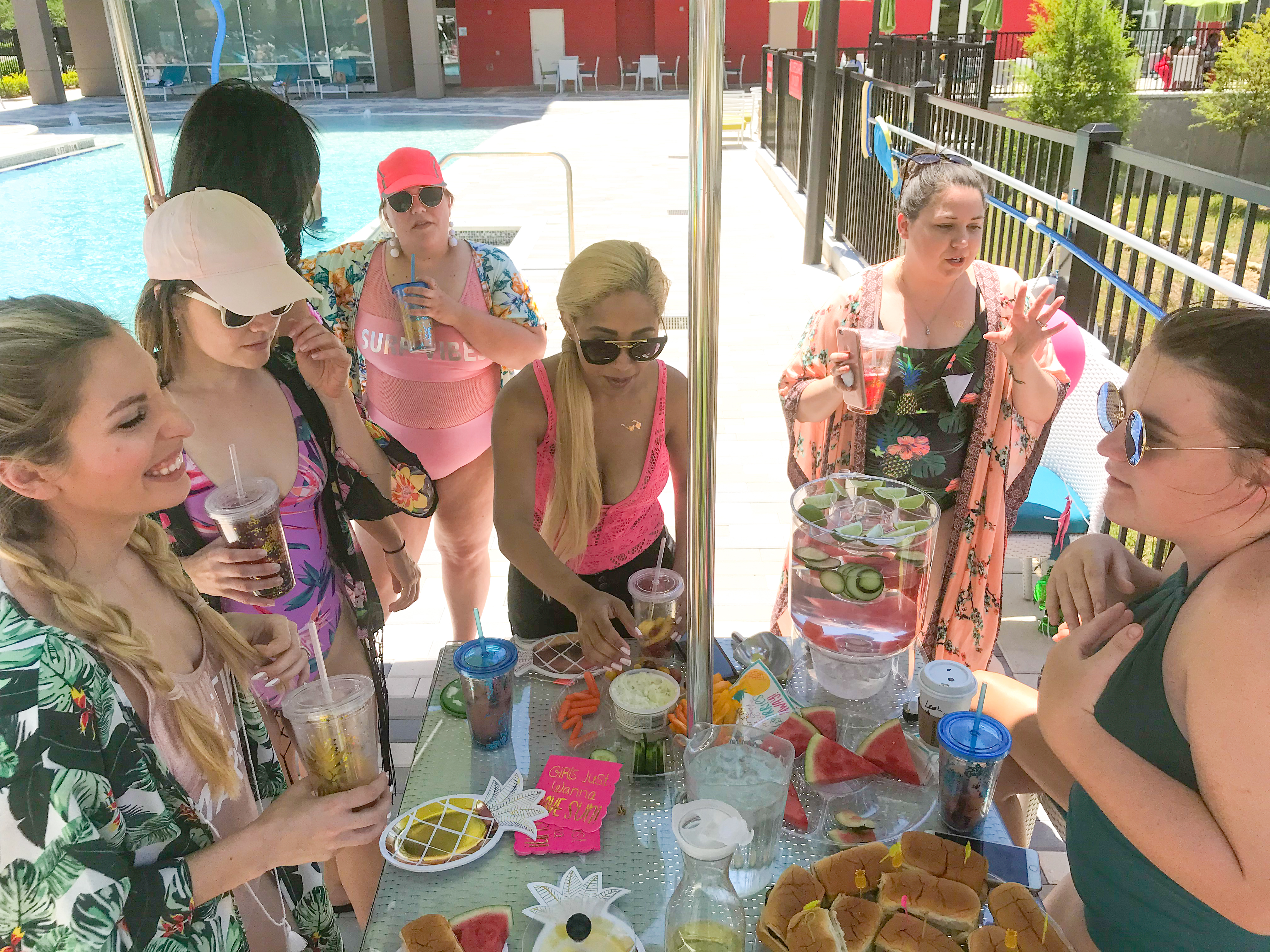 BUDGET BACHELORETTE SUMMER BASH