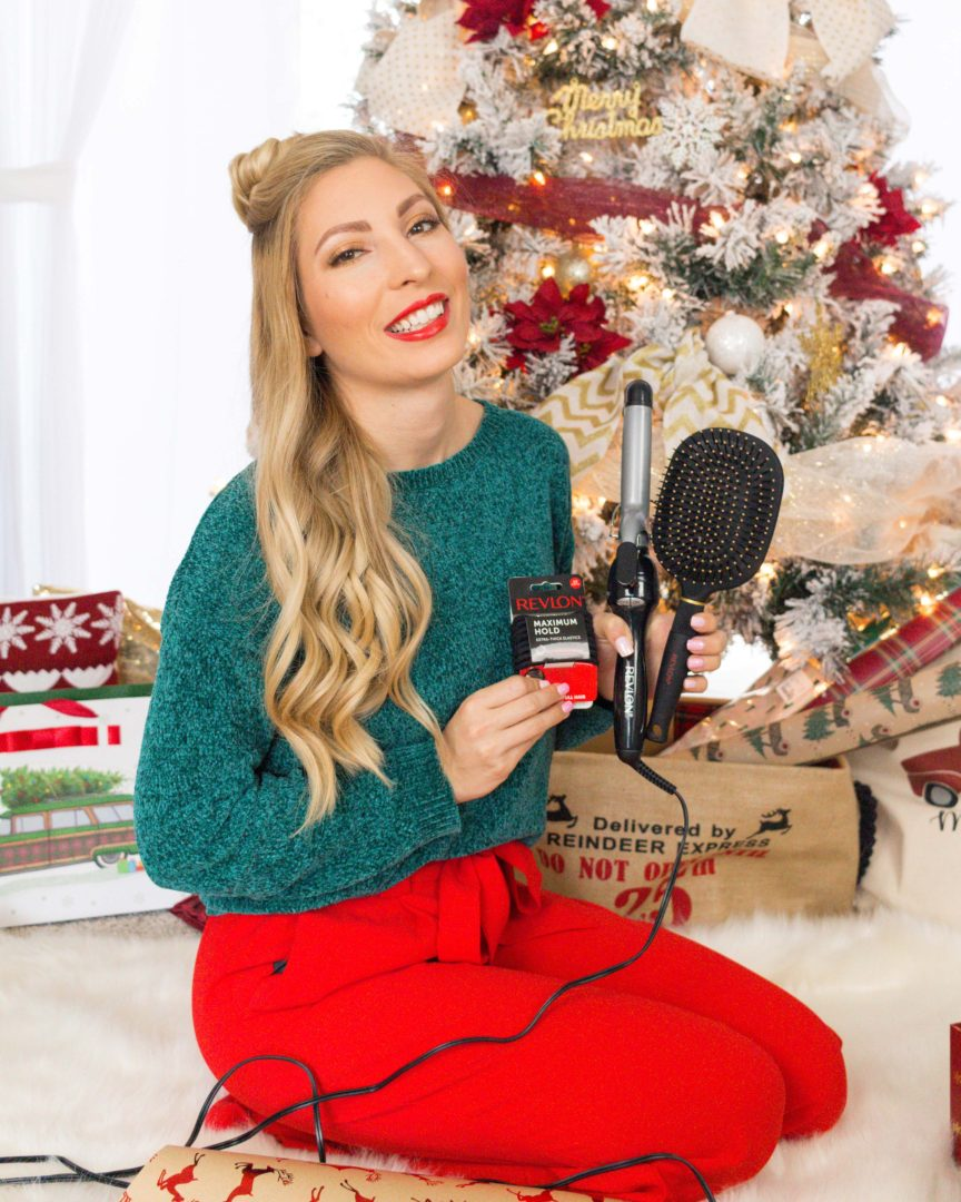 HOW I GET GLAM HOLIDAY CURLS